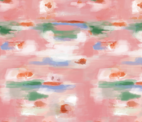 watercolor abstract fabric by lburleighdesigns on Spoonflower - custom fabric
