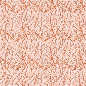 branchy - orange/blush