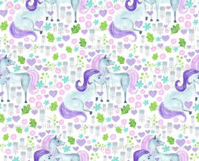 Whimsical Unicorns