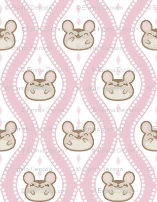 Happy Diamond Mice Pink