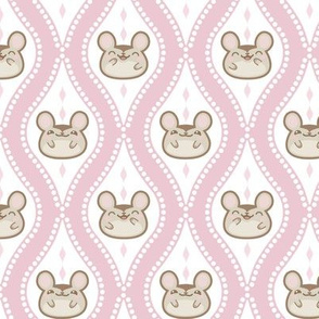 Happy Diamond Mice Pink