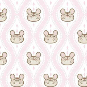 Happy Diamond Mice_Pale_Pink