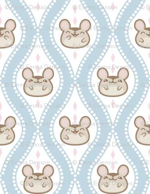Happy Diamond Mice Blue