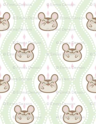 Happy Diamond Mice Mint