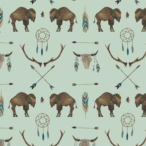 Sage Prairie Buffalo