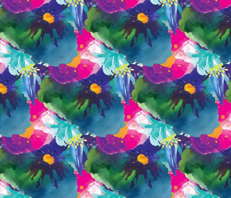 Beautiful Cacophony fabric by samalah on Spoonflower - custom fabric