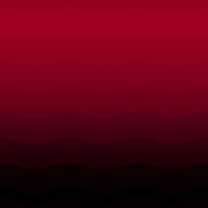 Crimson to black ombre by Su_G