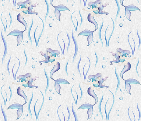 Under Sea Dance fabric by sugarpinedesign on Spoonflower - custom fabric