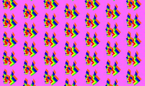 12. LOVE CITY fabric by clubdearte on Spoonflower - custom fabric
