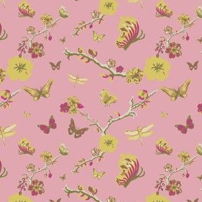 Chinoiserie, Pink