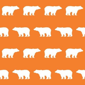 bear fabric baby boy fabric boys nursery design simple bear orange
