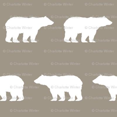 bear fabric baby boy fabric boys nursery design simple bear brown