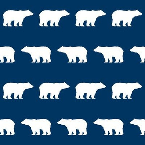 bear fabric baby boy fabric boys nursery design simple bear navy