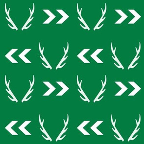 antler fabric green baby boy nursery design antlers chevrons design