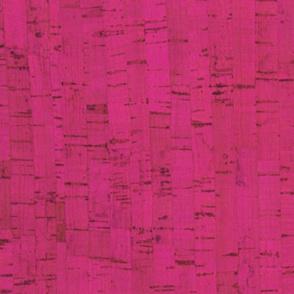 pink faux cork
