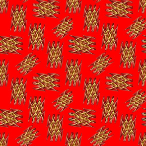 Northern_Lights_Pattern_Red