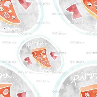 Mushroom pizza team