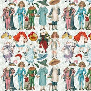 Fairy Tales Paper Dolls