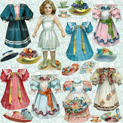 Paper Doll Set