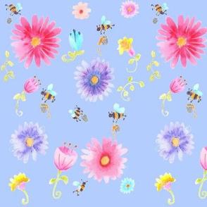 A Bees work .... (blue)