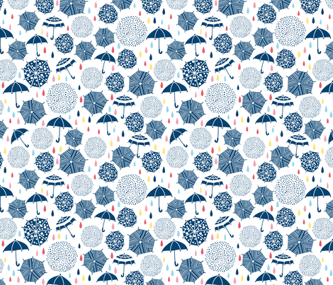 stop rain fabric by gisellehuberman on Spoonflower - custom fabric
