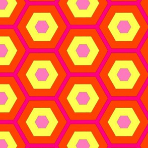 colorful_pink_yellow_orange_hexagons