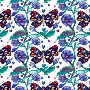 Butterfly Garden Motif