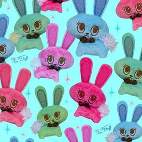 Retro Plush Bunnies