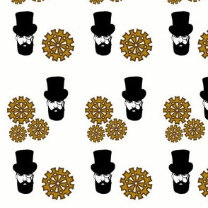 Steampunk Top Hat Man