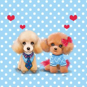 Poodles are love Panel
