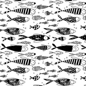 Black & White Fish