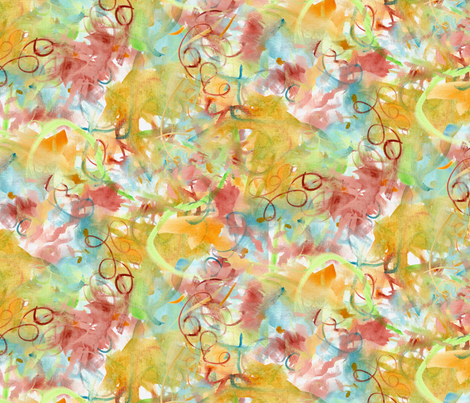 AbstractWatercolors fabric by blairfully_made on Spoonflower - custom fabric
