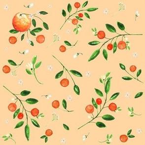 """8"""" Summer Oranges / Orange"""