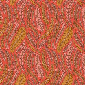 Farmhouse Feathers | Red