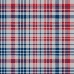plaid navy and red america usa gingham plaid fabric grey