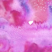 Pink and Purple Watercolour Abstract Pattern