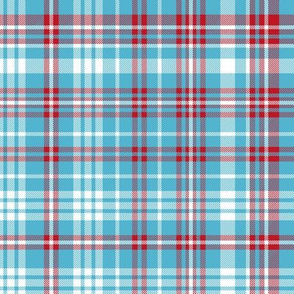 plaid navy and red america usa gingham plaid fabric light blue