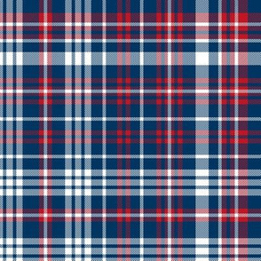 plaid navy and red america usa gingham plaid fabric navy