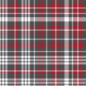 plaid navy and red america usa gingham plaid fabric charcoal