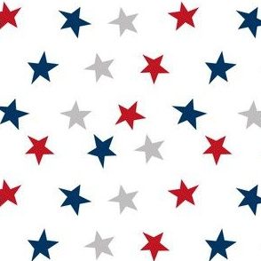 stars usa merica america fabric red white and blue