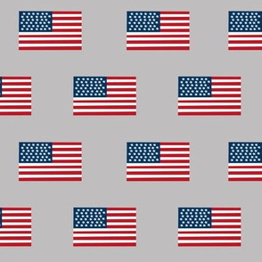 american flag fabric flag usa merica design patriotic july 4th fabric grey