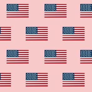 american flag fabric flag usa merica design patriotic july 4th fabric pink