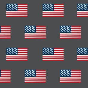 american flag fabric flag usa merica design patriotic july 4th fabric charcoal