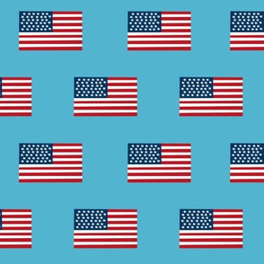 american flag fabric flag usa merica design patriotic july 4th fabric light blue