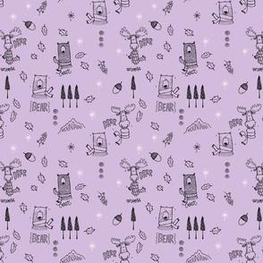 Brr... cold - purple