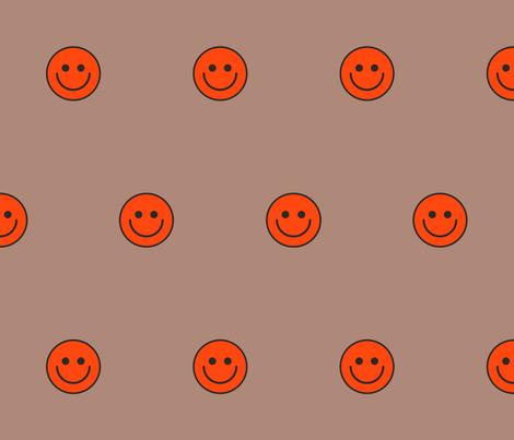 Smileys fabric by bashfulbirdie on Spoonflower - custom fabric
