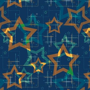 Abstract stars .