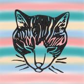 Sleepy Cat stripes 4