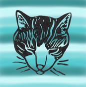 Sleepy Cat Stripes 2