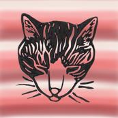 Sleepy Cat Stripes 1